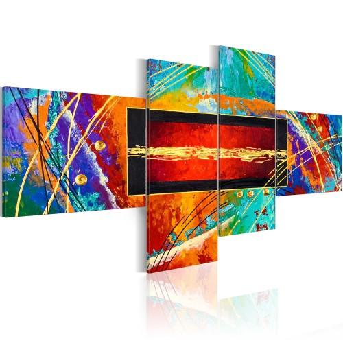 Quadro - Danza dell'arcobaleno - Quadri e decorazioni