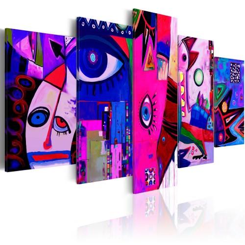 Quadro - Circo rosa - Quadri e decorazioni