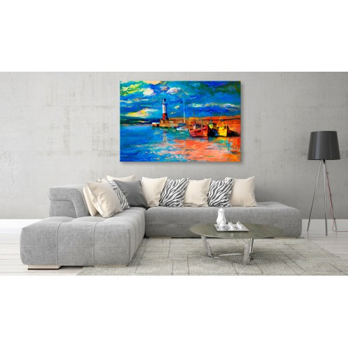 Quadro - Seaside Landscape: The Lighthouse - Quadri e decorazioni