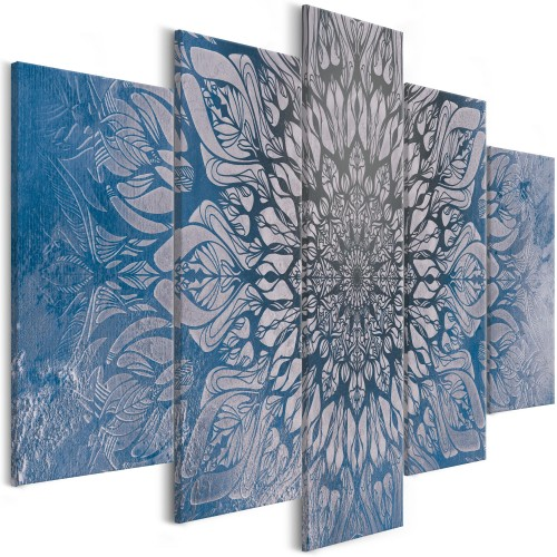 Quadro - Hypnosis (5 Parts) Blue Wide - Quadri e decorazioni