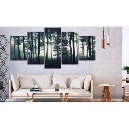 Quadro - Dark Forest (5 Parts) Wide - Quadri e decorazioni