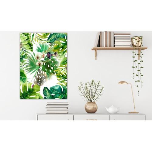 Quadro - Tropical Shadow (1 Part) Vertical - Quadri e decorazioni