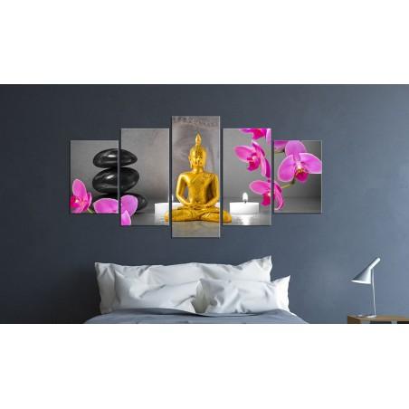 Quadro - Zen: Buddha d'oro - Quadri e decorazioni