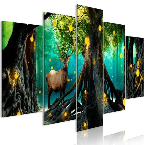 Quadro - Enchanted Forest (5 Parts) Wide - Quadri e decorazioni