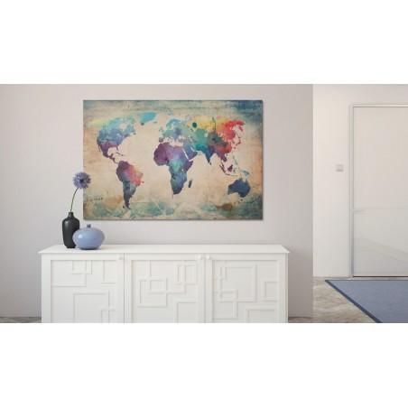 Quadro - Mappa iridata - Quadri e decorazioni