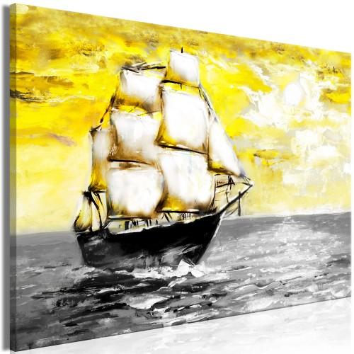Quadro - Spring Cruise (1 Part) Wide Yellow - Quadri e decorazioni