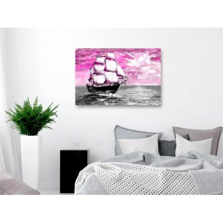 Quadro - Spring Cruise (1 Part) Wide Pink - Quadri e decorazioni