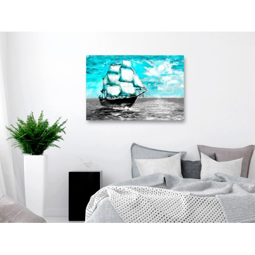 Quadro - Spring Cruise (1 Part) Wide Blue - Quadri e decorazioni