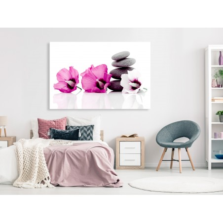 Quadro - Calm Mallow (1 Part) Wide Pink - Quadri e decorazioni