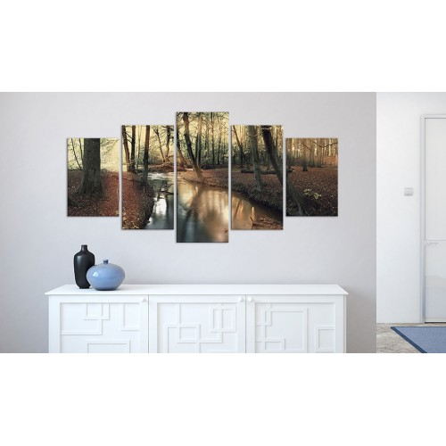 Quadro - Autunno marrone: foresta - Quadri e decorazioni