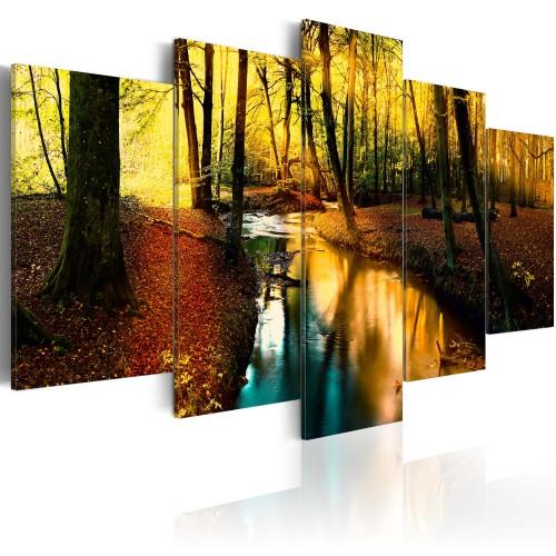 Quadro - Quiete autunnale: foresta - Quadri e decorazioni