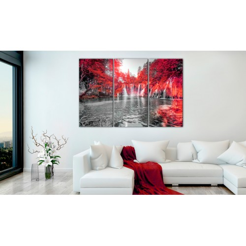 Quadro - Waterfalls of Ruby Forest - Quadri e decorazioni