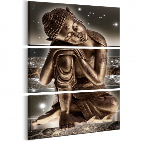 Quadro - Buddha at Night - Quadri e decorazioni