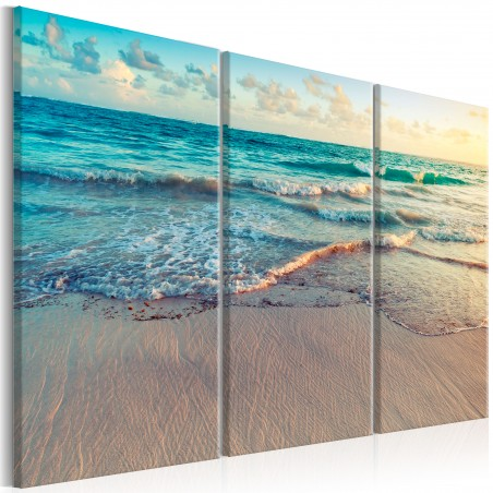 Quadro - Beach in Punta Cana (3 Parts) - Quadri e decorazioni