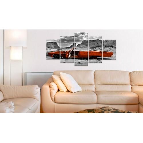 Quadro - Macchina arancione - Quadri e decorazioni