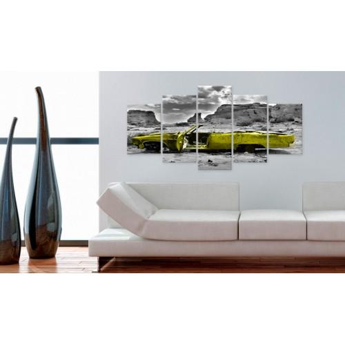 Quadro - Macchina gialla - Quadri e decorazioni