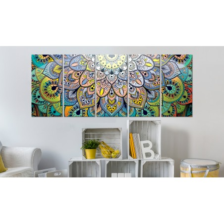 Quadro - Mandala: Peacock's Tail - Quadri e decorazioni