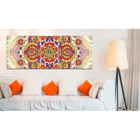 Quadro - Colourful Ornament - Quadri e decorazioni