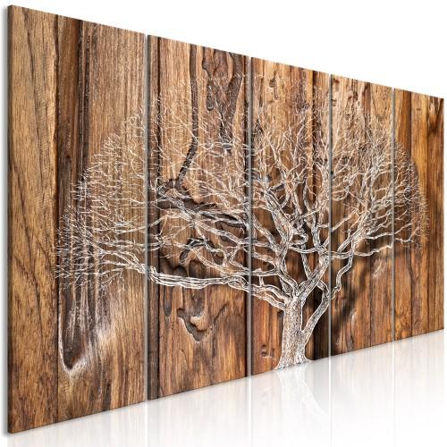 Quadro - Tree Chronicle (5 Parts) Narrow - Quadri e decorazioni