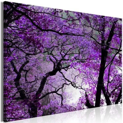 Quadro - Purple Afternoon (1 Part) Wide - Quadri e decorazioni