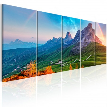 Quadro - Rainbow in the Alps I - Quadri e decorazioni