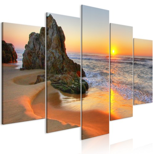 Quadro - Meeting at Sunset (5 Parts) Wide - Quadri e decorazioni