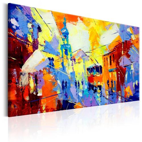 Quadro - Colours of the City - Quadri e decorazioni