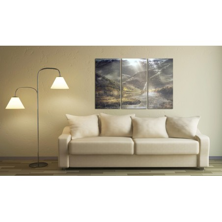 Quadro - The land of mists - triptych - Quadri e decorazioni