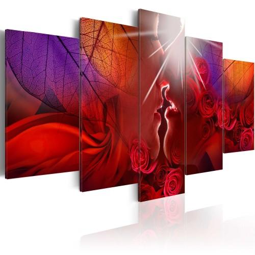 Quadro - Bacio della rosa - Quadri e decorazioni