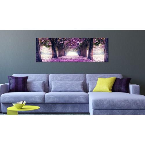 Quadro - Calma di viola autunno - Quadri e decorazioni