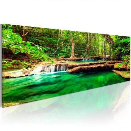 Quadro - Cascata smeraldo - Quadri e decorazioni