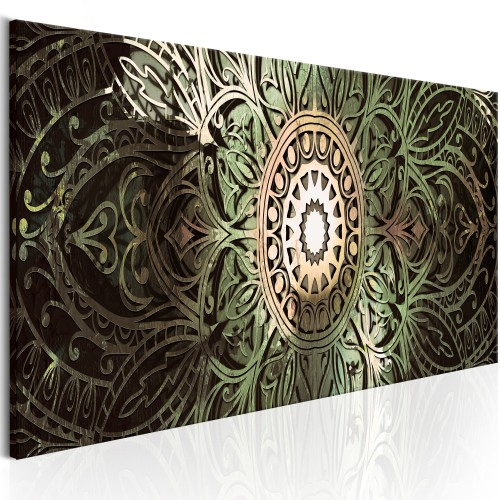 Quadro - Emerald Mandala - Quadri e decorazioni