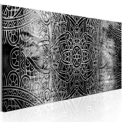 Quadro - Mandala: Grey Depths - Quadri e decorazioni