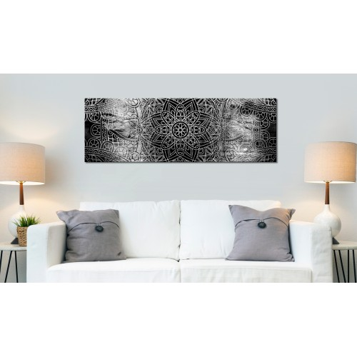 Quadro - Mandala: Grey Depths - Quadri e decorazioni