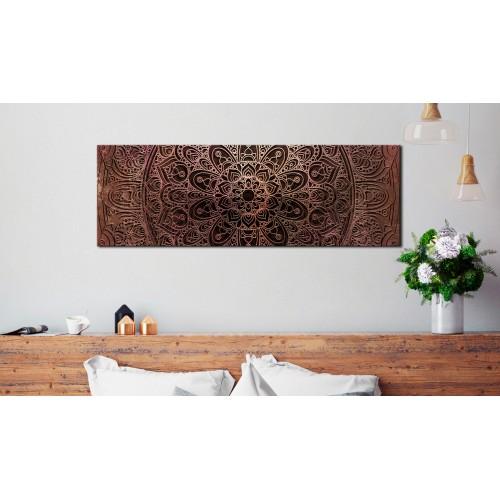 Quadro - Mandala: Amber Silence - Quadri e decorazioni