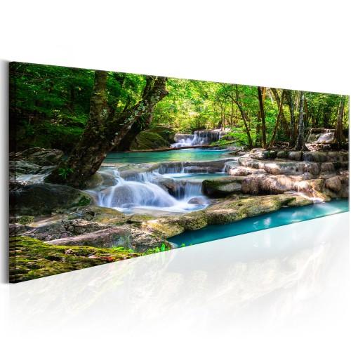 Quadro - Nature: Forest Waterfall - Quadri e decorazioni