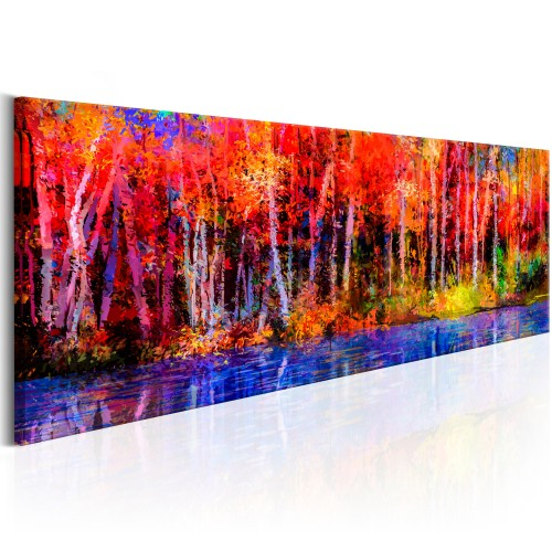 Quadro - Colorful Autumn Trees - Quadri e decorazioni