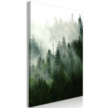 Quadro - Coniferous Forest (1 Part) Vertical - Quadri e decorazioni