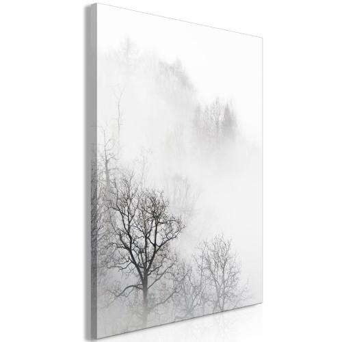 Quadro - Trees In The Fog (1 Part) Vertical - Quadri e decorazioni