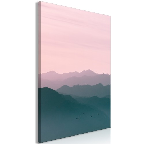 Quadro - Mountain At Sunrise (1 Part) Vertical - Quadri e decorazioni