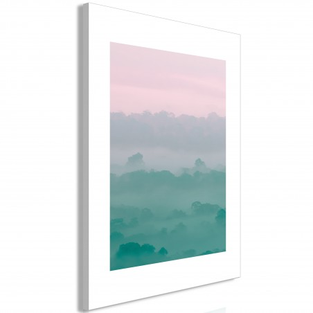 Quadro - Foggy Dawn (1 Part) Vertical - Quadri e decorazioni