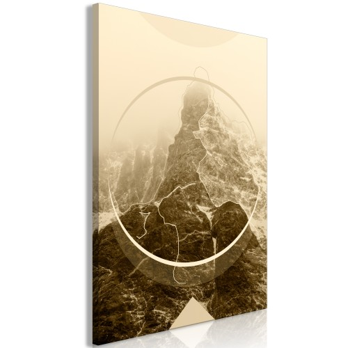 Quadro - Power of the Mountains (1 Part) Vertical - Quadri e decorazioni