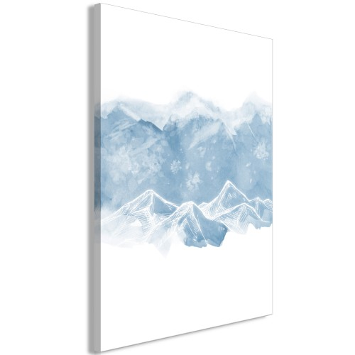 Quadro - Ice Land (1 Part) Vertical - Quadri e decorazioni