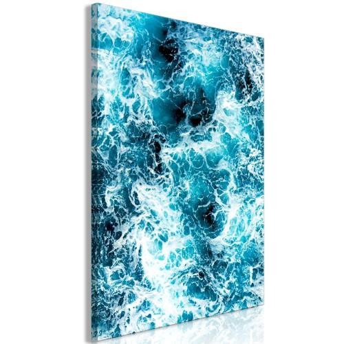 Quadro - Sea Currents (1 Part) Vertical - Quadri e decorazioni