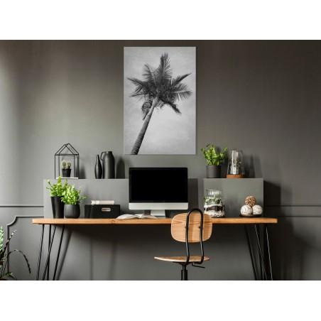 Quadro - High Palm Tree (1 Part) Vertical - Quadri e decorazioni