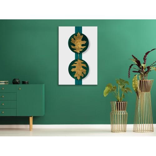 Quadro - Green Wealth (1 Part) Vertical - Quadri e decorazioni