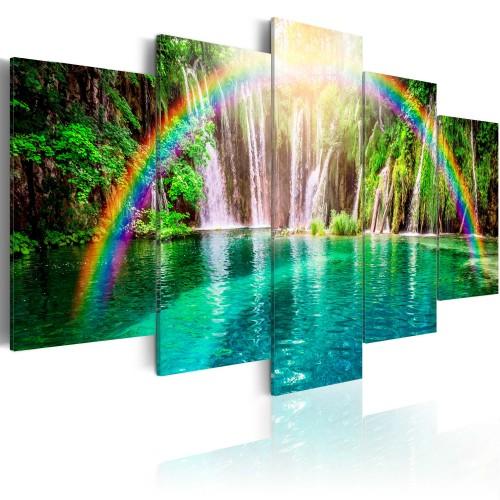 Quadro - TEmpo di arcobaleno - Quadri e decorazioni
