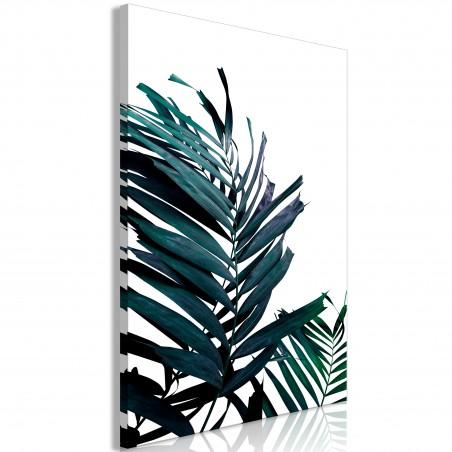 Quadro - Emerald Leaves (1 Part) Wide - Quadri e decorazioni