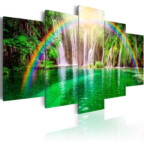 Quadro - Tempo di arcobaleno II - Quadri e decorazioni