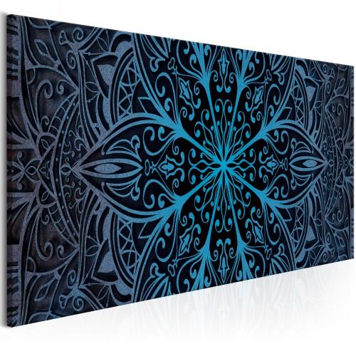 Quadro - Feathers (1 Part) Blue Narrow - Quadri e decorazioni